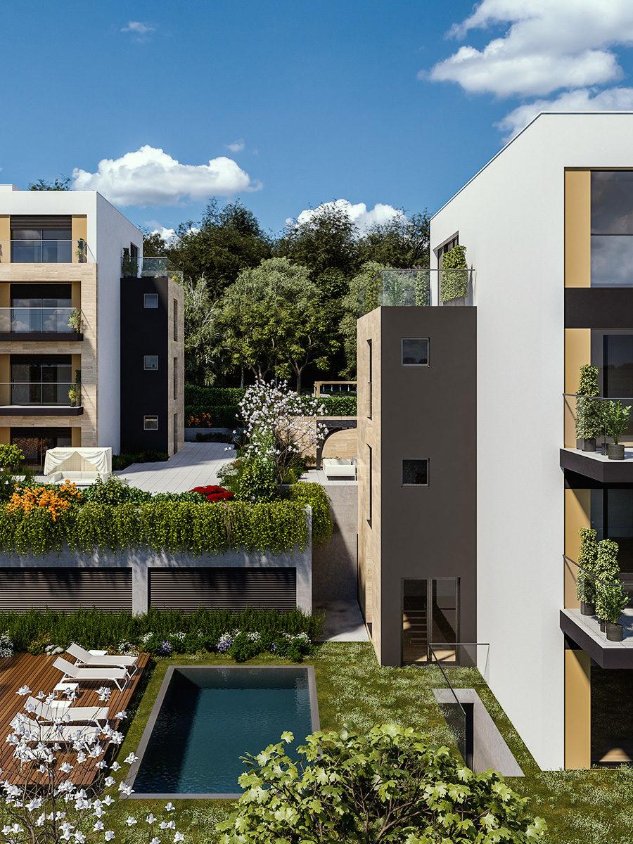Prodaja stanova Green Hill Dedinje - Lamela A.