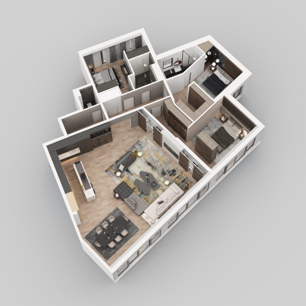 3D Prikaz - Stan F11.