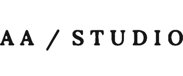 Logo AA Studio za dizajn enterijera.