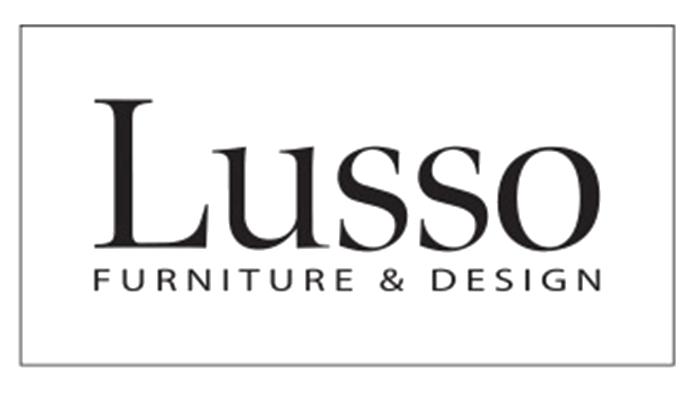 Lusso Furniture & Design logo.