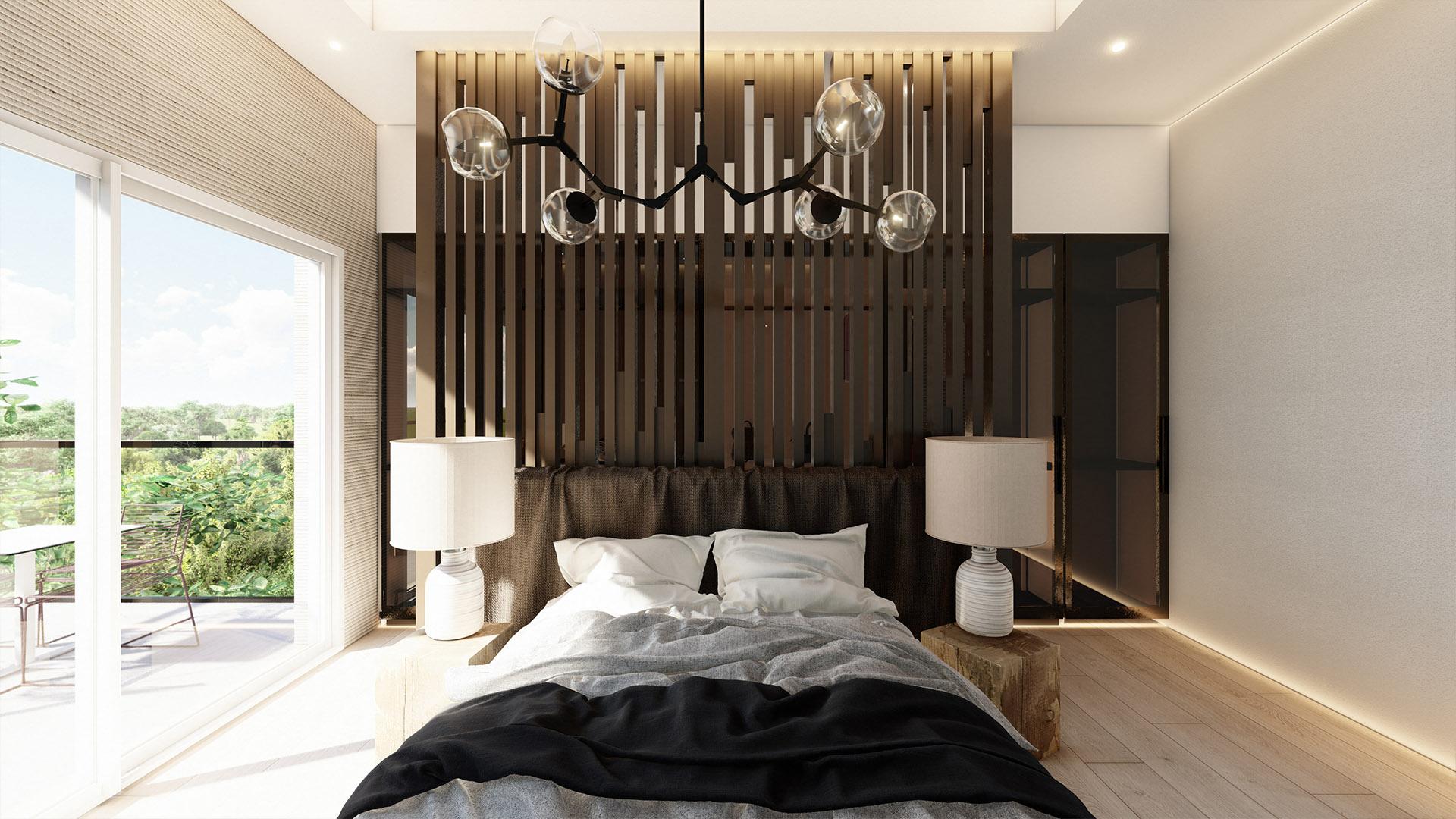 Prodaja stanova Green Hill Dedinje - master spavaća soba, stan A41.