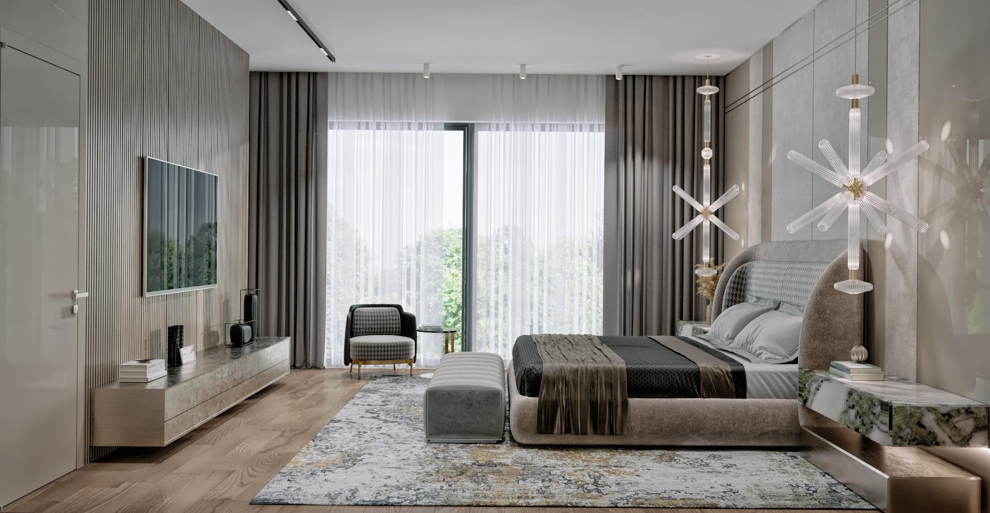 Bedroom penthouse.